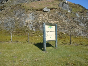 Llyn Brianne Sign